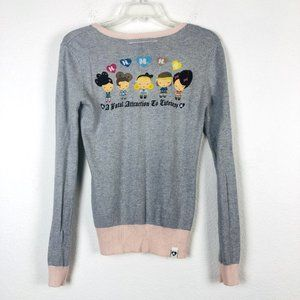 Harajuku Lovers Angora Kawaii Cardigan Sweater